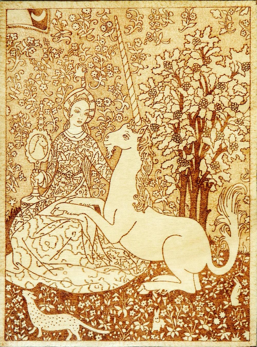 famous medieval art unicorn wwwpixsharkcom images