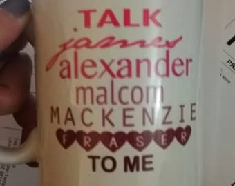Talk JAMMF OUTLANDER fan mug