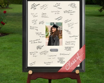 personalized graduation frame personalized graduate celebration signature frame signature frame gc909 graduation