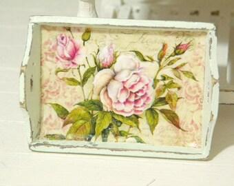 dollhouse miniature tray
