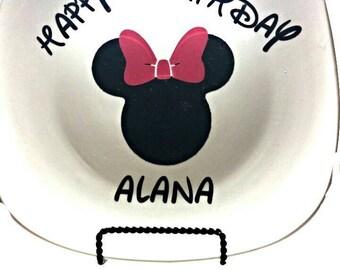 Customized ceramic plate