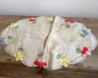 Antique Hand Made Center Cloth
