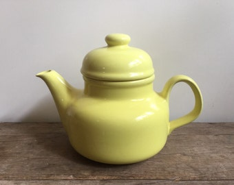Vintage Yellow Teapot