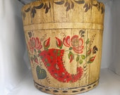 Vintage 1930's Maple Syrup Bucket