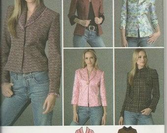 Simplicity 4363    Misses/Petites   Jackets   size14,16,18,20,22     uncut