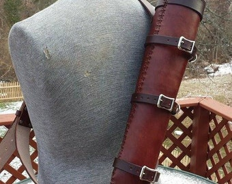 Leather Quiver LARP SCA Steampunk