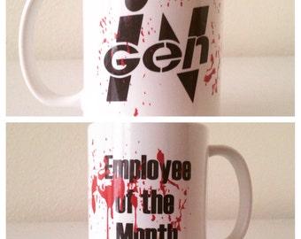 Employee of the month coffee mug funny coffee mug