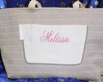 Hamptons Large Insulated Tote Personalized with monogram or name