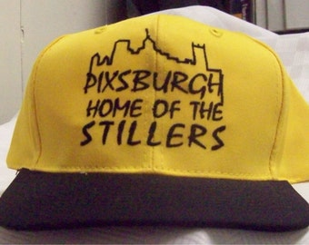 Pixburgh Home of the Stillers Hat