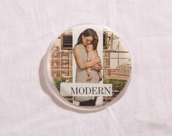 Mod Mom Button Pin