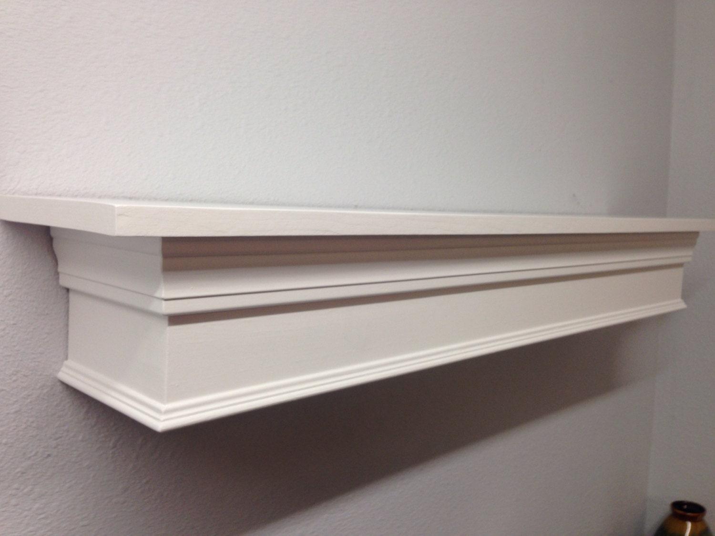 floating mantle shelf in white mantle shelf fireplace. Black Bedroom Furniture Sets. Home Design Ideas