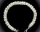Sterling Silver Turkish Roundmaille Bracelet