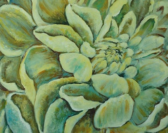 Oil Painting on canvas Flower