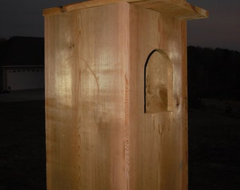 Cedar Barred Owl House