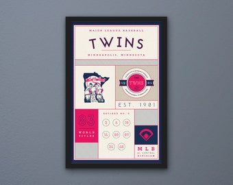 Minnesota Twins Stats Print