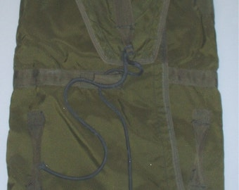 US Army T-10 (?) nylon parachute bag for parts/crafting project