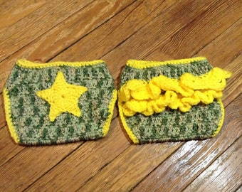 Army Diaper Cover