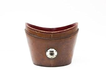 English Leather Hat Box Base
