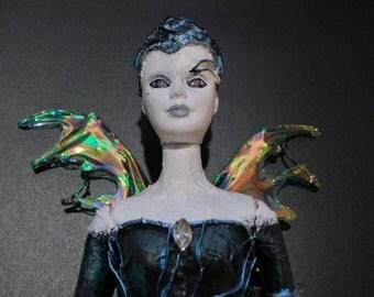 Borg Fairy Doll - altered Barbie doll figurine Star Trek