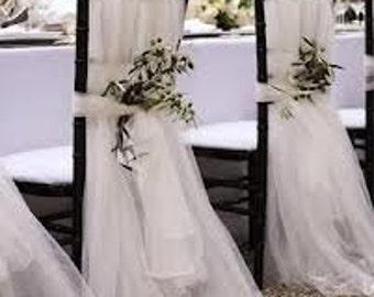 Wedding Chair Slipcovers