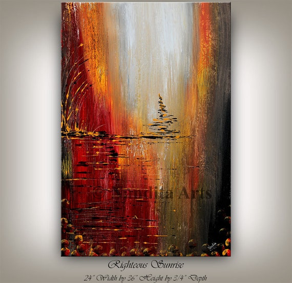 Original acrylic abstract painting abstract paintings for Original modern art for sale