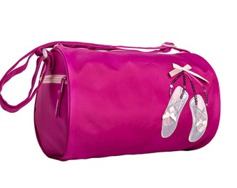 Sparkle Duffel Dance Bag Purple or Pink