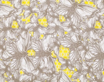 SALE!! 1/2 Yard - Dovecote - Garden Room - Lemon - Tina Givens - FreeSpirit - Fabric Yardage - PWTG148