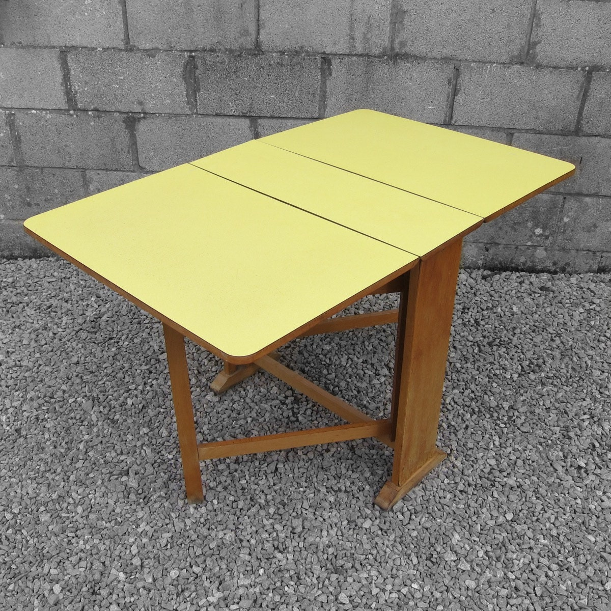 1950s Vintage Kitsch Old Retro Yellow Formica Kitchen  : ilfullxfull743370261mopy from hautejuice.wordpress.com size 1200 x 1200 jpeg 452kB