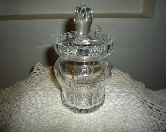 Crystal Jam Jar