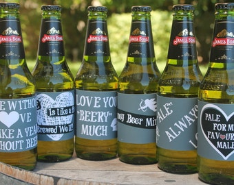 Smart image within printable beer labels