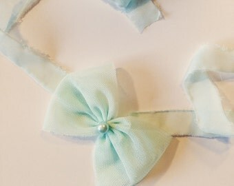 Spring Big Bow Tiebacks
