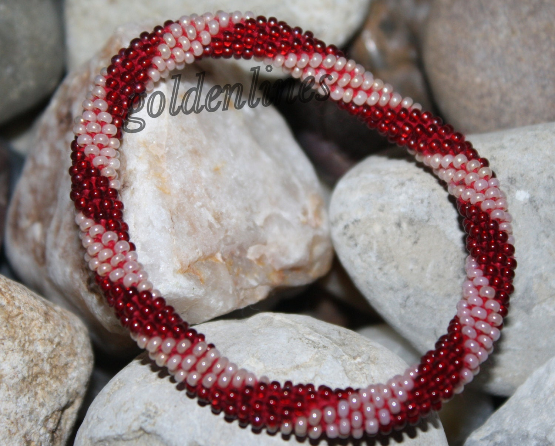 how to make crochet seed bead bracelets
