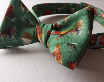 Fly Fishing Bow Tie