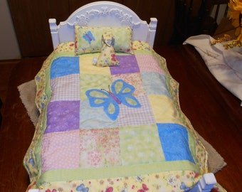 American Girl Bedding - Quilt Bedding Set - Reversible!