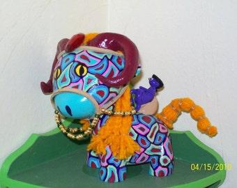 "Custom Vinyl ""Raffy"" figure - Artax the Alien Horse"