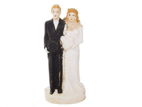 vintage antique bride and groom wedding cake topper figurine. Black Bedroom Furniture Sets. Home Design Ideas
