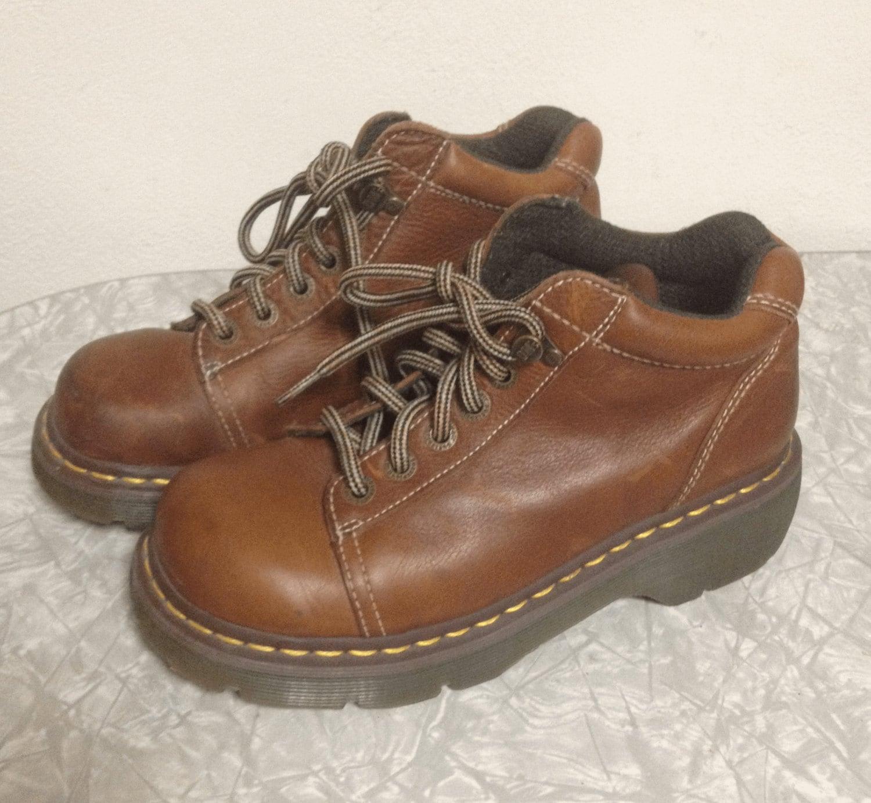 vintage doc marten air weir tan ankle boots haute juice. Black Bedroom Furniture Sets. Home Design Ideas