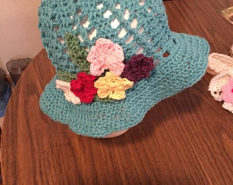 Flower Floppy Hat