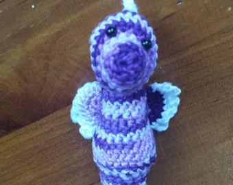Crocheted Seahorse