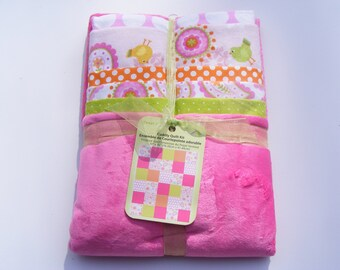 Tweet Chic Cuddly Baby Quilt Kit