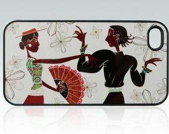 Flamenco iPhone 4 case, iPhone 4s case, dance iPhone 4 cover, iPhone 4s cover, modern design, flowers, cool, colorful