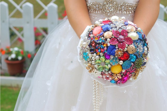 DIY Handmade Bridal Bouquet Wedding Bouquet Candy By WeddingMemory