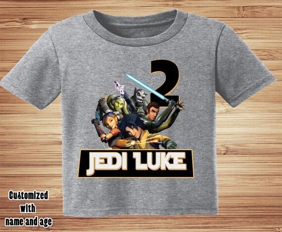 Star Wars Rebels Birthday Shirt