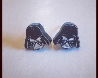 Star Wars Inspired Darth Vader Earrings