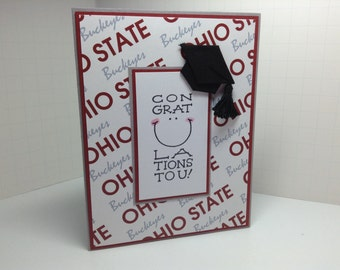 Ohio State graduation card