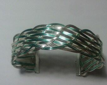 Closed Wire Weaved Bracelet