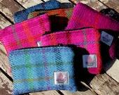 Harris Tweed Purse, tartan and checks, small purse, change purse, coin purse, coin pouch