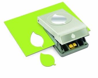 EK Success Large Punch - Green Leaf - CLOSEOUT SALE