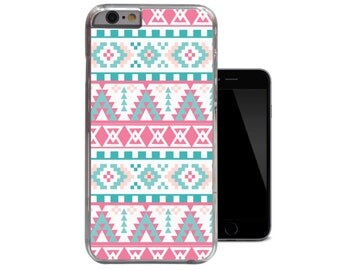 Nautical iPhone 6 Case Aztec iPhone 5c Case Blue Pink iPhone 5 5s Case Tribal iPhone 4 4s case (A152)