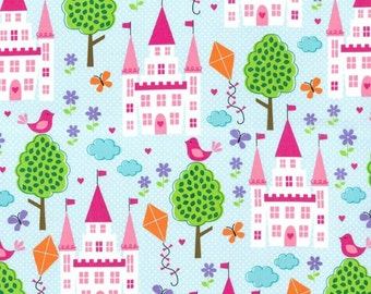 Enchanted Castles Fabric